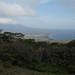 Praia Santo Domingo vista de longe