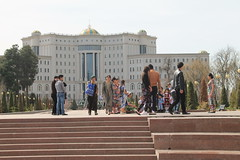National Library at Nowruz, Dushanbe, Tajikistan