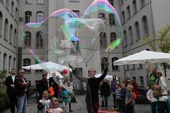 Seifenblasenfabrik Bubblebo Seifenblasenshow beim Tag der offenen Tür im Bundesministerium für Landwirtschaft 5
