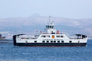 Calmac Ferry - MV Hallaig, Sconser Isle of Skye