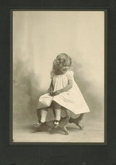 A sweet smile (sctatepdx) Tags: portrait portlandoregon vintagedress vintageshoes vintageportrait antiquedress antiqueportrait antiqueshoes aunestudio