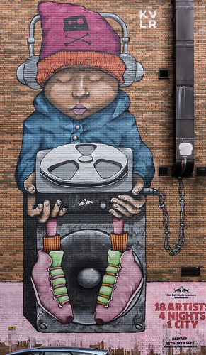 Street Art In Belfast [May 2015] REF-104662