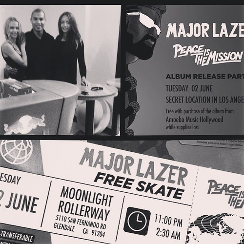 And this is happening! Love Major Lazer! #majorlazer #redbull #redbullgivesyouwings #redbulllax #bartenders #events #eventlife #girlboss #werk #music #peaceisthemission #200ProofLA #200Proof