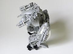 Kröte R-319 004 (Josiah N.) Tags: world history robot war lego ii wars mech alternate moc krote