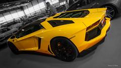 IMG_9939 (Simone Villani 7D) Tags: car yellow canon eos 50mm tokina verona legend lamborghini supercar fiera spotcolor motori lambo yellowcar 40d quattroruote worldcars aventador