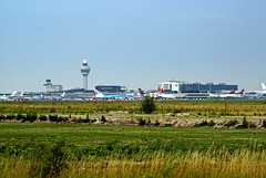 Schiphol Airport - Main Buildings. (Eduard van Bergen) Tags: china travel vacation india vortex canada holland tower tourism dutch amsterdam inflight airport wings cabin singapore control united flight continental cockpit australia delta aeroplane passengers emirates korean crew airline thai malaysia take british hostess uniforms hull airways klm sas airlines stewardess departure departures schiphol runway lufthansa attendant panam cathay pilot turkish flightdeck twa jal garuda pilots avion arrivals easyjet alitalia steward csa sabena rotate descending aeroflot fokker fuselage swissair flightpath wingtips airhostess quantas etihad quatar