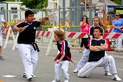 Karate Exhibition Skokie Illinois 4th of July Parade 2016 3728 (www.cemillerphotography.com) Tags: holiday kids illinois families celebration route politicians celebrities independence 4thofjuly clowns classiccars floats acts