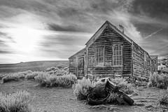 Metzger House (gpa.1001) Tags: owensvalley easternsierras california bodie metzgerhouse blackandwhite bw hdr