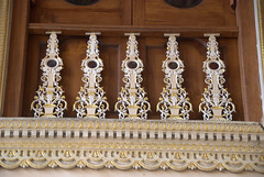 Metal Grills (VinayakH) Tags: india gardens royal palace hyderabad royalpalace nizam telangana chowmahallapalace