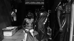 Daily Life - Kuala Lumpur (Chot Touch) Tags: india blackwhite chinatown streetphotography malaysia kualalumpur hindu sari petalingstreet jalantunhslee kuilsrimahamariamman ricohgxr malaysiastreetphotographer