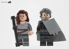 Episode VIII Concept: Rey and Luke (Jamesbrick) Tags: star lego luke 8 rey wars viii episode skywalker 2016 jamesbrick