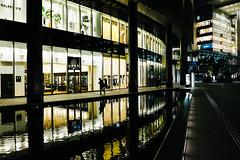 Osaka Station, Japan (PeiPei Yang) Tags: street snapshot japan osaka night station x100t fuji asia