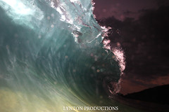sunset flash IMG_5363 copy (Aaron Lynton) Tags: beach canon hawaii big flash barrel sigma wave 7d spl makena shorebreak barreling 580exii