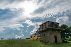 Fort-Washington-24 (vaabus) Tags: fortwashington fortwashingtonmaryland fortwashingtonpark bastion casemate cannon 24poundercannon caponniere civilwardefensesofwashington fortification