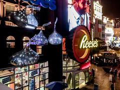 Las Vegas vacation: Day 4 (early days) Tags: lasvegas nevada hersheyschocolateworld candy lights night neon hersheys