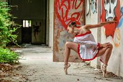 Sara (nnicolo) Tags: classic abandoned girl beautiful dance danza ragazza bellissima classica