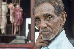 The butcher (Photosightfaces) Tags: butcher meat sri lanka lankan srilanka srilankan man seller vendor portrait galle character