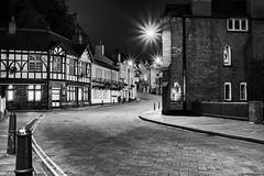 Lymm Town Night B&W (Graham Peers) Tags: world old white black night photography town warrington cheshire lymm