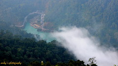 view fm the hill top (Amby2506) Tags: hills mountains kalimpong chibu darjeeling west bengal india himalayan view point teesta river