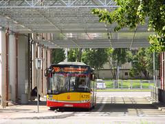 "Solaris Urbino 18 III, #A-735, ""Mobilis"" Mociska dept Warsaw (transport131) Tags: bus autobus ztm warszawa mobilis mociska solaris urbino"