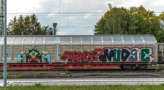 1413_2016_07_08_Baunatal_Guntershausen_MRCE_DISPO_6193_614_mit_gem_Gterzug_EZ_51682_Graffiti (ruhrpott.sprinter) Tags: ruhrpott sprinter geutschland germany nrw ruhrgebiet gelsenkirchen lokomotive locomotives eisenbahn railroad zug train rail reisezug passenger gter cargo freight fret diesel ellok hessen inselbahnhof guntershausen bebra boxxboxxpress db cantus hebhlbahn mrcedispolok prontorail rbk sbbc spagspitzke txltxlogistik wwwdispolokcom xrail 101 114 115 146 120 51 152 155 182 185 193 427 428429 482 628928 946 makde27001251 es64u2 es64f4 pbz ic re outdoor logo graffiti natur gterwaggon gterwagen