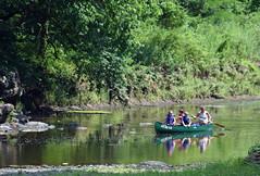 Afternoon With Grandpa (MTSOfan) Tags: summer canoe neshaminy grandfather grandchildren creek