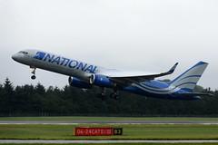 N567CA.EDI240716 (MarkP51) Tags: d7200 aviationphotofraphy image n567ca n boeing b757223 edinburgh airport b