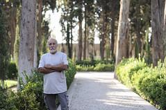(A.Atena) Tags: garden fingarden iran kashan people green trees nikon light 50mm