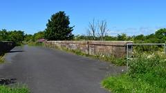 Kilmarnock-Irvine Cycle path. Over a Bridge and Onward. (Phineas Redux) Tags: ayrshirescenes kilmarnockirvinecyclepath cyclepaths ayrshire scotland