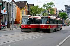 Canada 2016  Toronto  Trams (Michiel2005) Tags: 4064 4143 tram streetcar ttc toronto canada ontario torontotransitcommission