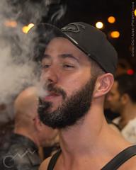 Smoky Beard (Octane Photo) Tags: iml facialhair cigar cigars