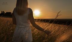 Summer Sunsets (marcuswhitephotography) Tags: girl england polish polishgirl summer sunset sun sky beautiful walks grass beauty view nature sony a7 ii 35mm marcuswhite photographer