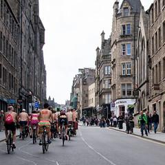 World Naked Bike Ride 2016-261 (KirkmouseMedia) Tags: bicycle edinburgh wnbr cycling
