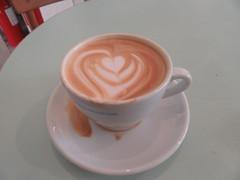 Milky cappuccino (cohodas208c) Tags: coffeeshop cappuccino coffeecollective jaegersborgade copenhagen openkitchen nrrebro