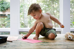 East Hampton, Aug 2016 (Philip DiResta) Tags: canon7dmkii canon crayola markers coloring art boy creative
