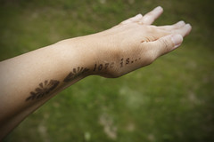 love tattoo (livcool) Tags: love letter tatoo sign symbol finger hand skin nail romantic relax ink blacktatoo picture humanfeeling feeling text message word calm henna stamp design art gesture