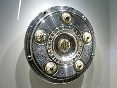 Meisterschale (cangaroojack) Tags: fusball museum dfb deutschland german germany football soccer dortmund fusballmuseum cup meisterschaft deutsche meisterschale schale trophy