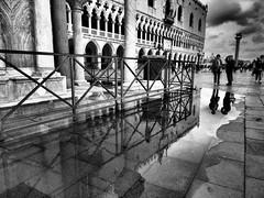 P6020699 (OlyPK) Tags: venice italy saint marco monochrome black white street photography