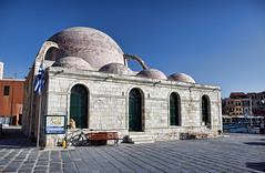 DSC_5648 Chania, Creta. Grecia (Giovanni Pilone) Tags: chania  creta kphth crete greece allaperto edificio architettura moschea candia