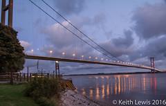 The Best Gateway to Hull (keithhull) Tags: humberbridge riverhumber hull hullcityofculture2017 reflection nightshot explore