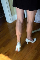 _DSC0050jj (ARDENT PHOTOGRAPHER) Tags: calves muscular female woman flexing skinny mature milf gilf highheels tiptoe