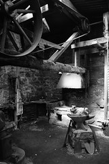 The Forge (jimmybob49) Tags: finchfoundry forge workplace bw blackwhite nationaltrust industry dartmoor