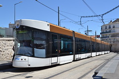 RTM Tram 021 (Will Swain) Tags: marseille 15th july 2016 tram trams light rail railway rails transport travel europe french france south sud est east provence alpes cte dazur rtm 021 21