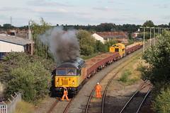 56302 TnT 56113 6C52 Clag!! Latchford (Neil Altyfan - Railway Photography) Tags: 56302 startup clag 56113 6c52 basfordhall latchford sidings colasrail railvac 997095150055 warrington arpley signal box 270716