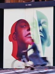 Eres / Bruxelles - 9 sep 2016 (Ferdinand 'Ferre' Feys) Tags: bxl brussels bruxelles brussel belgium belgique belgië streetart artdelarue graffitiart graffiti graff urbanart urbanarte arteurbano eres