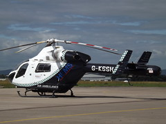 G-KSSH Explorer MD900 Helicopter Specialist Aviation Services Ltd (Aircaft @ Gloucestershire Airport By James) Tags: gloucestershire airport gkssh explorer md900 helicopter specialist aviation services ltd egbj james lloyds