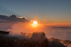 Lever de Soleil - Soufrière - [Guadeloupe] (Thierry CHARDES) Tags: contrejour backlight sigma1750mmf28 ladesirade fumerolles cratère france antilles caraïbes caribbean guadeloupe volcan soufrière basseterre sunrise iles