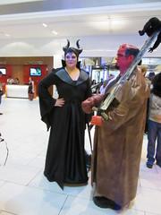 IMG_1245 (Olotie) Tags: dragoncon dragoncon2016 maleficent hellboy