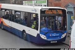 27837 (northwest85) Tags: stagecoach aldershot gx62 bwj 27837 alexander dennis adl enviro 300 700 bognor regis west street chichester bus gx62bwj