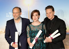 10-09-2016-65 Ira Sachs  Anna Rose Olmer Matt Ross (Thierry Sollerot) Tags: deauville2016 thierrysollerot tapis rouge deauville festival film amricain american